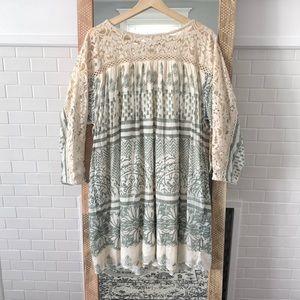 Free People Sun Daze Crochet dress